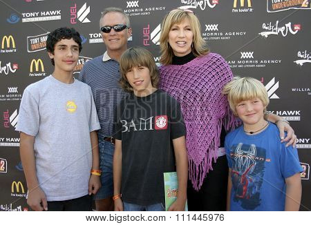 Leeza Gibbons at the Standup For Skateparks benefit held at Pinz Bowling Alley in Studio City, California on October 3, 2004.