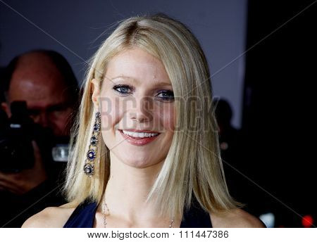 HOLLYWOOD, CALIFORNIA. Wednesday April 30, 2008. Gwyneth Paltrow attends the Los Angeles Premiere of