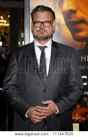 Yorick van Wageningen at the Los Angeles premiere of 'Blackhat'  held at the TCL Chinese Theatre in Los Angeles on Wednesday January 8, 2015.