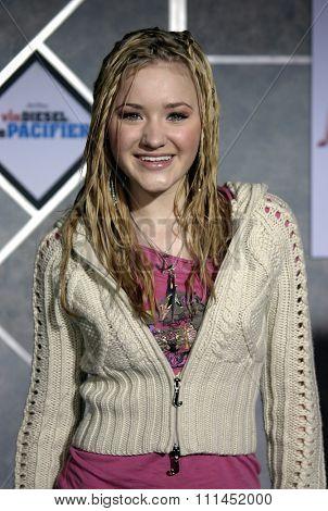 03/01/2005 - Hollywood - Amanda Michalka at the