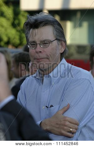 Stephen King at the Los Angeles premiere of
