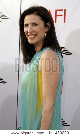 10 June 2004 - Hollywood, USA - Mimi Rogers. 32nd AFI Life Achievement Award: A Tribute to Meryl Streep at the Kodak Theatre, Hollywood & Highland.