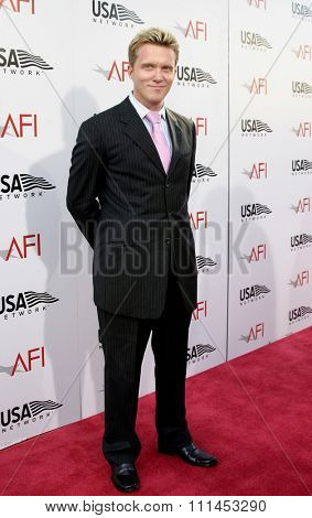 10 June 2004 - Hollywood, USA - Anthony Michael Hall. 32nd AFI Life Achievement Award: A Tribute to Meryl Streep at the Kodak Theatre, Hollywood & Highland.