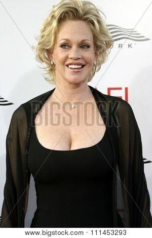 10 June 2004 - Hollywood, USA - Melanie Griffith. 32nd AFI Life Achievement Award: A Tribute to Meryl Streep at the Kodak Theatre, Hollywood & Highland.