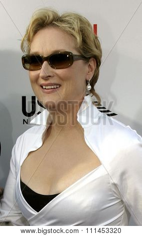 10 June 2004 - Hollywood, USA - Meryl Streep. 32nd AFI Life Achievement Award: A Tribute to Meryl Streep at the Kodak Theatre, Hollywood & Highland.