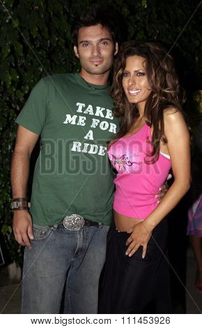 19 August 2004 - Hollywood, California - Kerri Kasem. Pelle Pelle's Celebrity Catwalk for charity hosted by Nicole Richie at the Palladium in Hollywood.