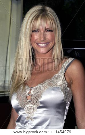 19 August 2004 - Hollywood, California - Brande Roderick. Pelle Pelle's Celebrity Catwalk for charity hosted by Nicole Richie at the Palladium in Hollywood.