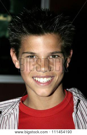 03/08/2005 - Hollywood - Taylor Lautner at