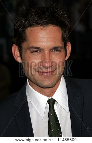 HOLLYWOOD, CALIFORNIA. April 17, 2006. Enrique Murciano attends the Los Angeles Premiere of