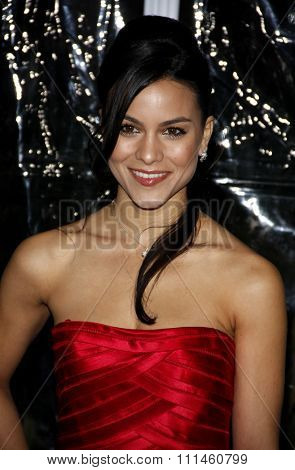 February 9, 2010. Maya Stojan at the Los Angeles premiere of