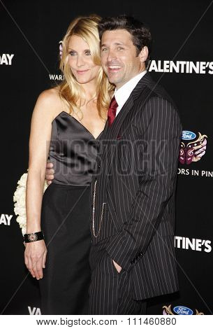 February 8, 2010. Patrick Dempsey at the Los Angeles premiere of