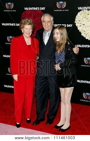 February 8, 2010. Garry Marshall at the Los Angeles premiere of