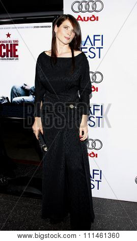 01/11/2008 - Hollywood - Julia Ormond at the 2008 AFI FEST Los Angeles Premiere of