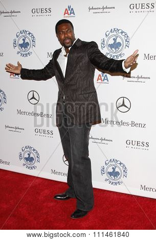 25/10/2008 - Beverly Hills - Chris Tucker at the 30th Anniversary Carousel Of Hope Ball held at the Beverly Hilton Hotel in Beverly Hills, California, United States.