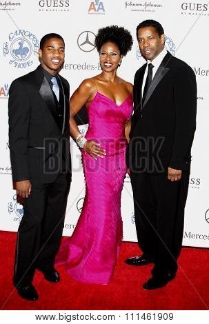 October 25, 2008. Denzel Washington at the 30th Anniversary Carousel Of Hope Ball held at the Beverly Hilton Hotel, Beverly Hills.