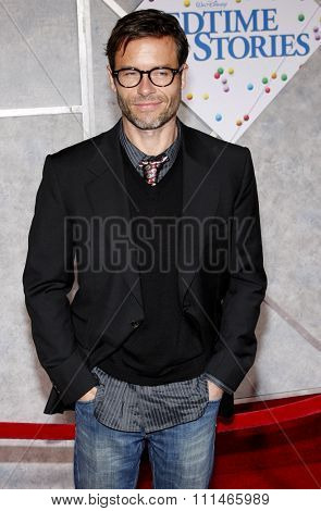 Guy Pearce at the Los Angeles premiere of 'Bedtime Stories' held at the El Capitan Theater in Hollywood on December 18, 2008.