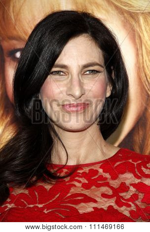 Laura Silverman at the Los Angeles premiere of HBO's 'The Comeback' held at the El Capitan Theatre in Los Angeles on November 5, 2014 in Los Angeles, California.