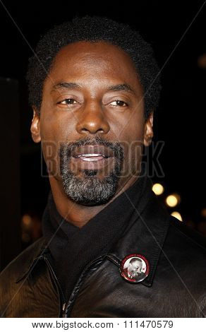Isaiah Washington attends the Los Angeles Premiere of