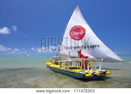 Brazilian Jangada Fishing Boat