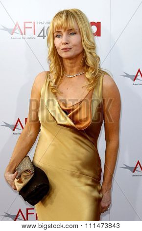 Rebecca De Mornay attends the 35th Annual AFI Life Achievement Award held at the Kodak Theatre in Hollywood, California, on June 7, 2007.