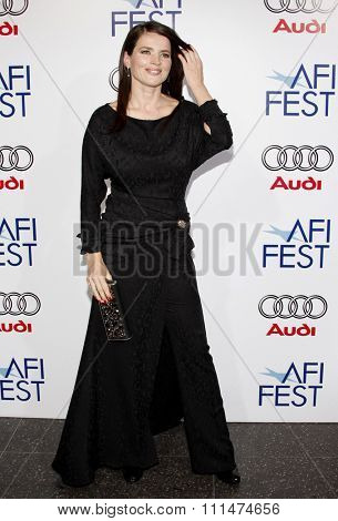 Julia Ormond at the AFI FEST 2008 Centerpiece Gala Screening Of 'Che' held at the Grauman's Chinese Theatre in Hollywood on November 1, 2008.