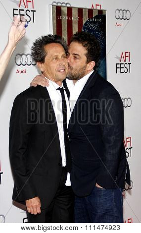 Brian Grazer and Brett Ratner at the AFI FEST 2011 Opening Night Gala World Premiere Of 'J. Edgar' held at the Grauman's Chinese Theatre in Hollywood on November 3, 2011.