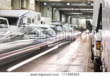 Embarking Cars To Ship