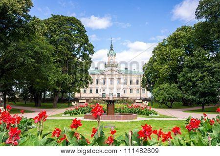 Town Hall In Pori, Finland