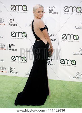 Francesca Eastwood at the 2014 Environmental Media Awards held at the Warner Bros. Studios Lot in Los Angeles on October 18, 2014 in Los Angeles, California.