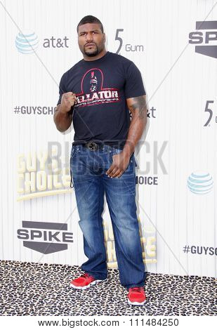 Quinton 'Rampage' Jackson at the 2013 Spike TV Guys Choice Awards held at the Sony Pictures Studios in Culver City in Los Angeles, United States, 080613.