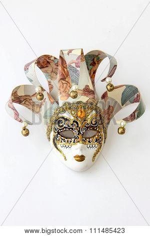 A souvenir mask from Venice.