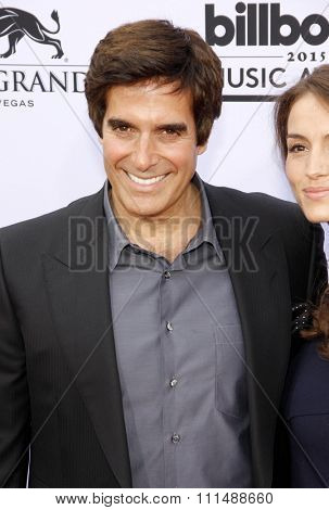 David Copperfield at the 2015 Billboard Music Awards held at the MGM Garden Arena in Las Vegas, USA on May 17, 2015.
