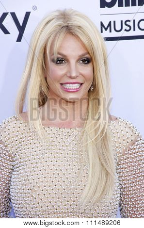 Britney Spears at the 2015 Billboard Music Awards held at the MGM Garden Arena in Las Vegas, USA on May 17, 2015.