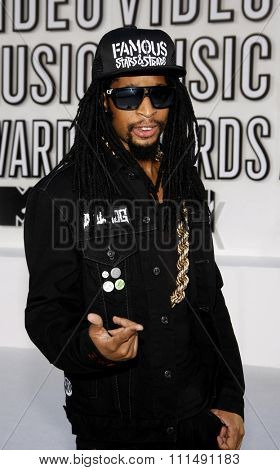 Lil' Jon at the 2010 MTV Video Music Awards held at the Nokia Theatre L.A. Live in Los Angeles on September 12, 2010.
