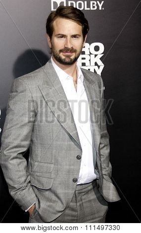 Mark Boal at the Los Angeles premiere of 'Zero Dark Thirty' held at the Dolby Theatre in Hollywood on December 10, 2012.