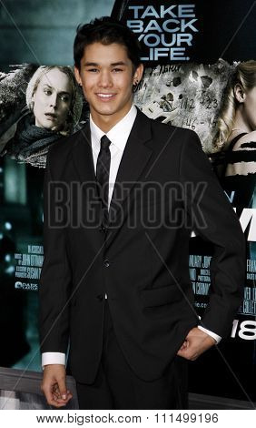 BooBoo Stewart at the Los Angeles premiere of 'Unknown' held at the Mann Village Theatre in Westwood on February 16, 2011.