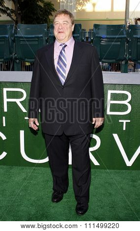John Goodman at the Los Angeles premiere of 'Trouble With The Curve' held at the  Mann's Village Theatre in Westwood on September 19, 2012.