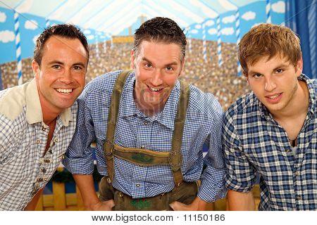 three bavarian men