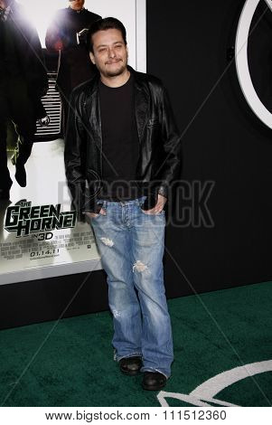 Edward Furlong at the Los Angeles premiere of 'The Green Hornet' held at the Grauman's Chinese Theatre in Hollywood on January 10, 2010.