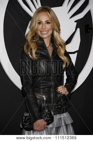 Taylor Armstrong at the Los Angeles premiere of 'The Green Hornet' held at the Grauman's Chinese Theatre in Hollywood on January 10, 2010.
