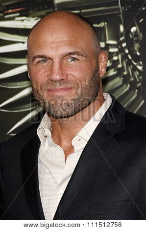 Randy Couture at the Los Angeles premiere of 'The Expendables 2' held at the Grauman's Chinese Theatre in Hollywood on August 15, 2012.