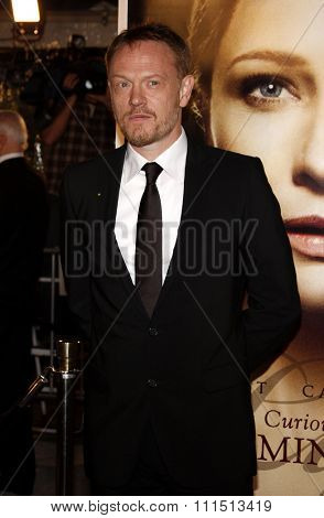 Jared Harris at the Los Angeles premiere of 'The Curious Case Of Benjamin Button' held at the Mann's Village Theater  in Westwood on December 8, 2008.