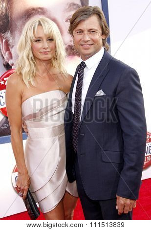 Grant Show and Katherine LaNasa at the Los Angeles premiere of 'Campaign