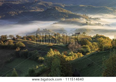 Countryside view in Transylvania