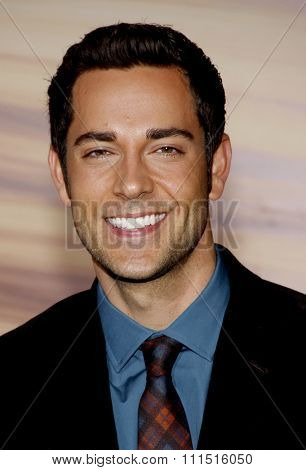 Zachary Levi at the Los Angeles premiere of 'Tangled' held at the El Capitan Theater in Hollywood on November 14, 2010.