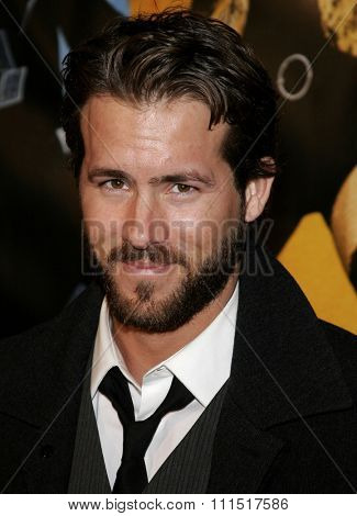 Ryan Reynolds attends the World Premiere of