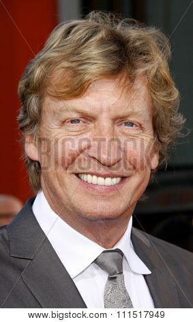 Nigel Lythgoe at the Los Angeles premiere of 'Step Up Revolution' held at the Grauman's Chinese Theatre in Hollywood on July 17, 2012.