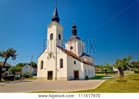 Church Od Koruska In Krizevci
