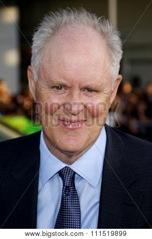 John Lithgow at the Los Angeles premiere of 'Rise of The Planet Of The Apes' held at the Grauman's Chinese Theater in Hollywood on July 28, 2011.