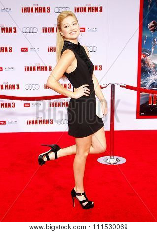 Olivia Holt at the Los Angeles premiere of
